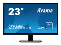 "Iiyama ProLite XU2390HS-1 - Écran LED - 23"" (23"" visualisable) - 1920 x 1080 Full HD (1080p) - IPS - 250 cd/m² - 1000:1 - 4 ms - HDMI, DVI-D, VGA - haut-parleurs - noir"