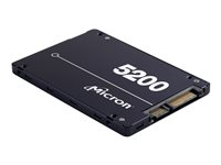 "Micron 5200 ECO - Disque SSD - chiffré - 3840 Go - interne - 2.5"" - SATA 6Gb/s - AES 256 bits - Self-Encrypting Drive (SED), TCG Enterprise"