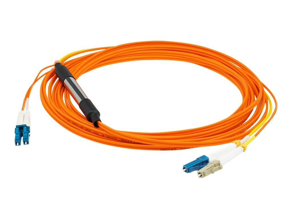 AddOn 2m LC OM1 & OS1 Orange Mode Conditioning Cable - mode conditioning cable - 2 m