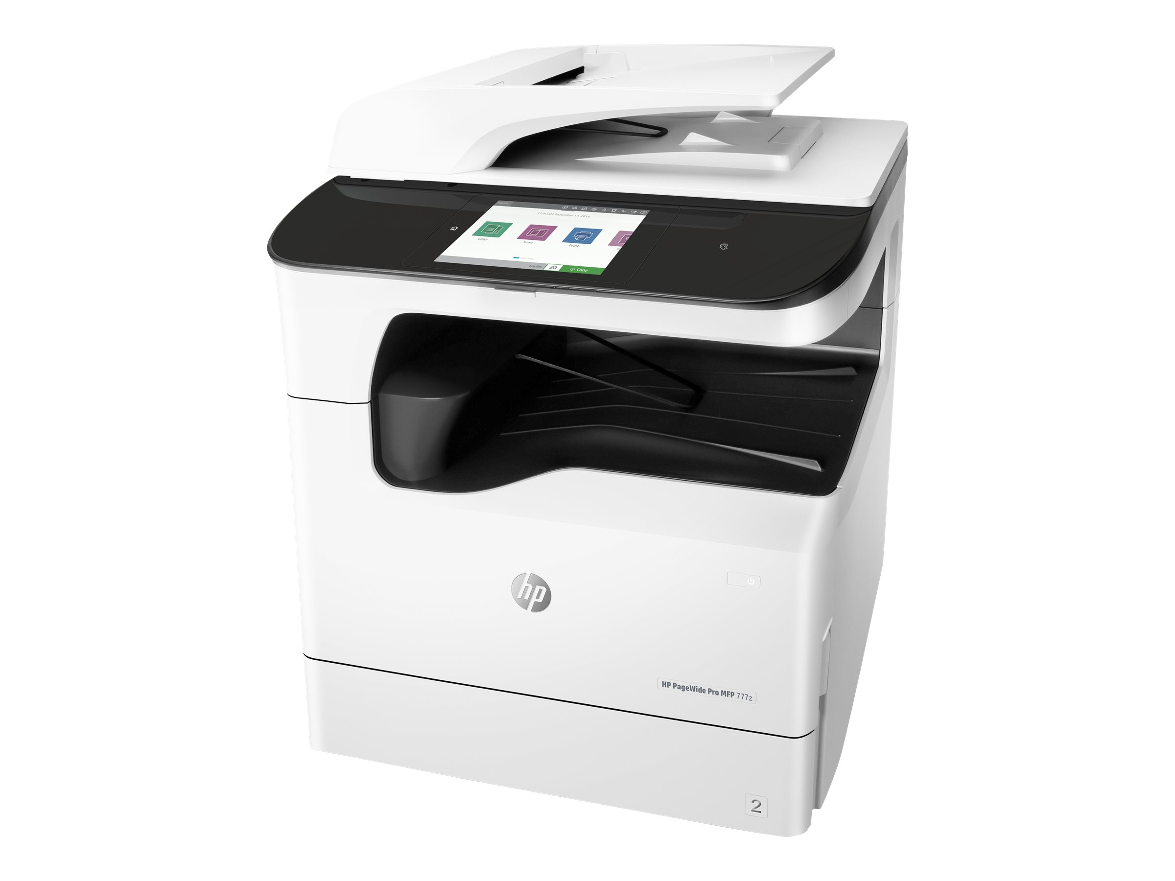 HP PageWide Pro 777z - Multifunktionsdrucker - Farbe - Tintenstrahl - A4 (210 x 297 mm), A3 (297 x 420 mm) (Original) - A3 (Medien)