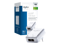 Devolo dLAN 500 duo - Bridge - HomePlug AV (HPAV) - wall-pluggable