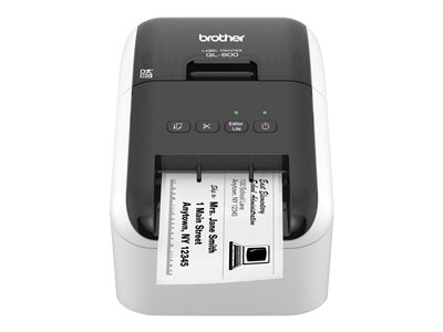 Brother QL-800 Label printer thermal paper Roll (2.4 in) 300 x 600 dpi