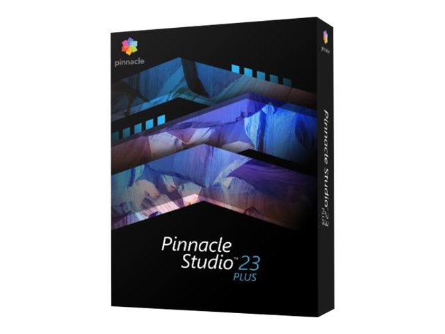 Pinnacle Studio Plus - (v. 23) - version boîte - 1 utilisateur - Win - Multi-Lingual - Europe