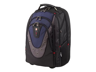 Wenger IBEX Notebook carrying backpack/trolley 16INCH blue/gray
