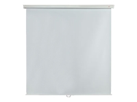 Metroplan Budget Manual Screen - Projection screen - ceiling mountable, wall mountable - 1:1 - Matte White