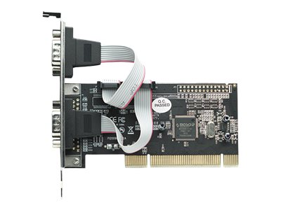 Manhattan Serial PCI Card - Serieller Adapter - RS-232 x 2