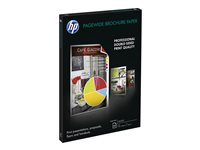 HP - Brillant - blanc brillant - A3 (297 x 420 mm) - 160 g/m² - 100 feuille(s) papier de brochure - pour PageWide Managed Color MFP E77660; PageWide Pro 77X