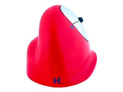 R-Go HE Sport Mouse ergonomic right-handed 5 buttons wireless Bluetooth red