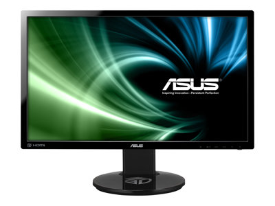 ASUS VG248QE - 3D LED-skærm - Full HD (1080p) - 24'