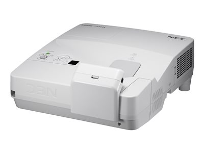 NEC U321Hi (Multi-Touch) - DLP projector - 3D - 3200 ANSI lumens - 1920 x 1080 - 16:9 - HD 1080p - ultra short-throw fixed lens