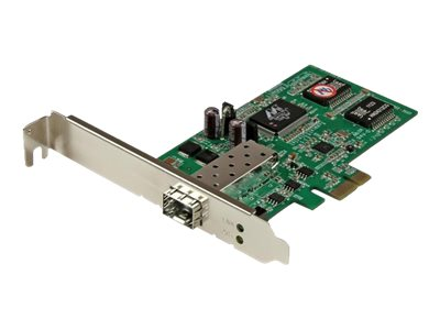 StarTech.com PCI Express Gigabit Ethernet Fiber Network Card w/ Open SFP - PCIe GbE SFP Network Card Adapter NIC - Fibe…
