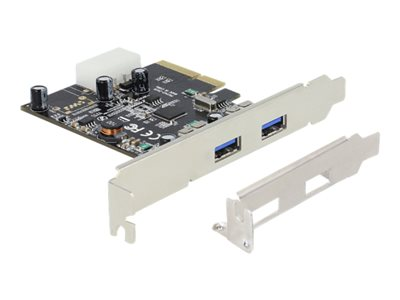 PCI Express x4 Card > 2 x external SuperSpeed USB 10 Gbps (USB 3.1, Gen 2)