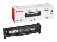 Canon 718 Black Sort 3400 sider