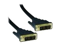 4XEM DVI cable single link DVI-D (M) to DVI-D (M) 15 ft black