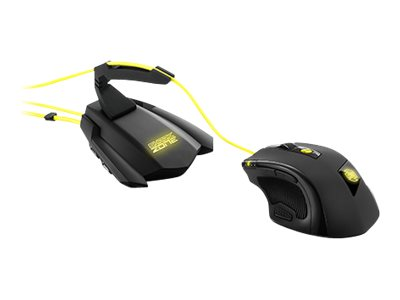 Sharkoon SHARK ZONE M51+ - Maus - Laser - 11 Tasten - verkabelt - USB