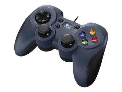 Logitech Gamepad F310 Blå Sort