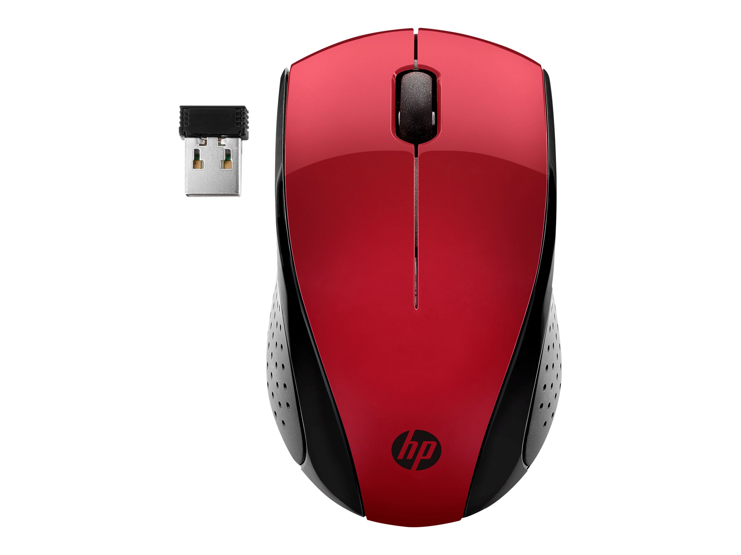 HP Inc. HP Wireless Mouse 220 Red 7KX10AA#ABB