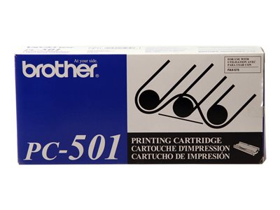 Brother PC501 Print ribbon cassette for FAX-575