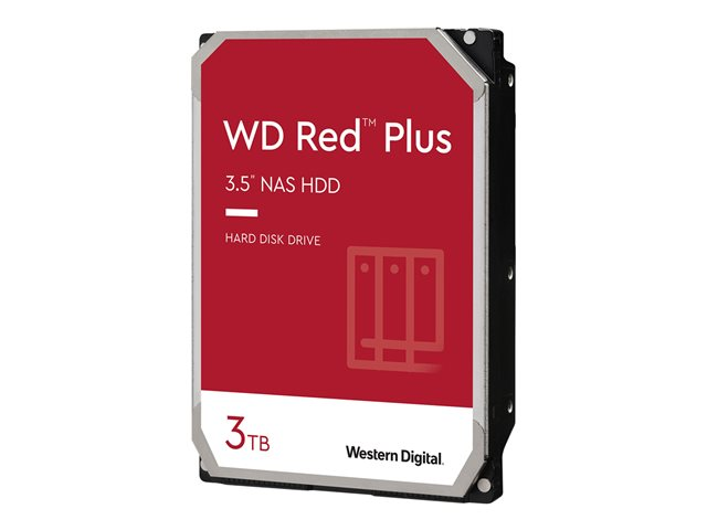 WD Red Plus NAS Hard Drive WD30EFRX