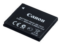 Canon NB-11LH - Battery - Li-Ion - 800 mAh - for IXUS 17X, 18X, 190; IXY 180, 190, 200, 210, 650; PowerShot SX412, SX430, SX432