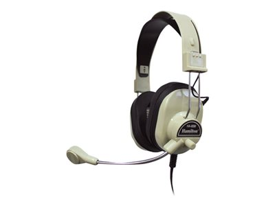 Hamilton HA-66M Deluxe Multimedia Headset with Mic image