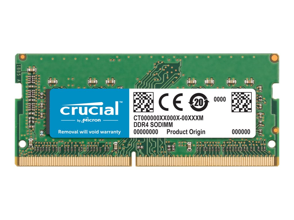 Crucial - DDR4 - module - 8 GB - SO-DIMM 260-pin - unbuffered