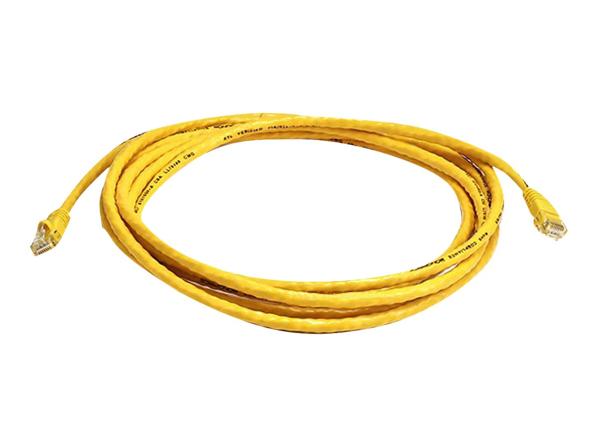 Monoprice patch cable - 3.05 m - yellow