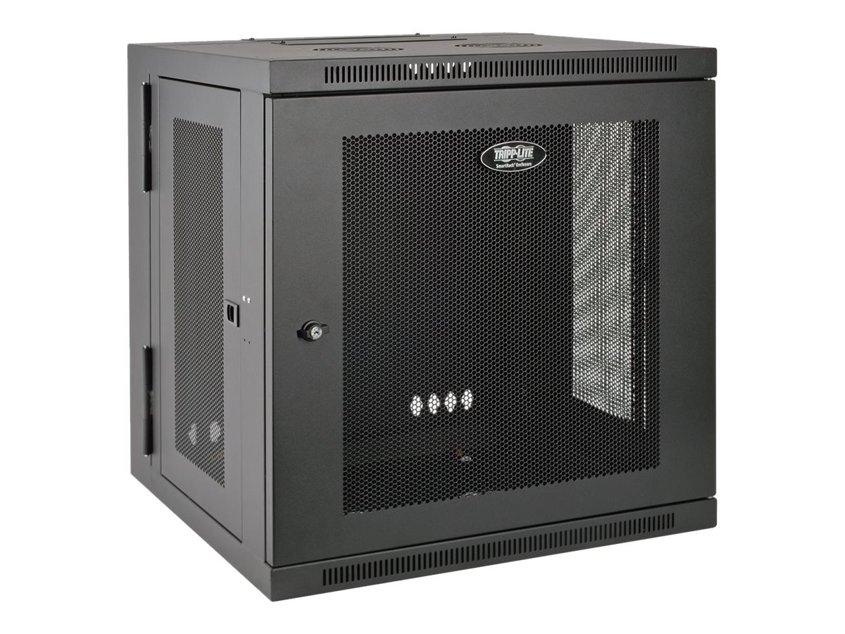 Tripp Lite 12U Wall Mount Rack Enclosure Server Cabinet Swinging Hinged Door Deep rack - 12U