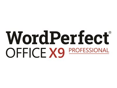 WordPerfect Office X9 Professional Edition Media CTL Win English, French