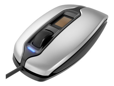 CHERRY MC4900 - mouse - USB - silver/black