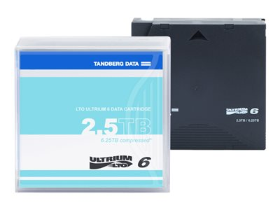 Tandberg - LTO Ultrium x 1 - 2.5 To - support de stockage