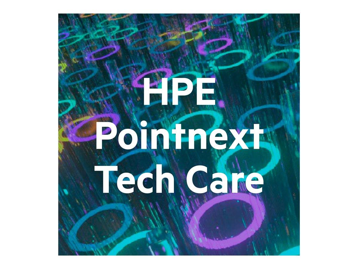 HPE Pointnext Tech Care Basic Service - extended service agreement - 5 years - on-site