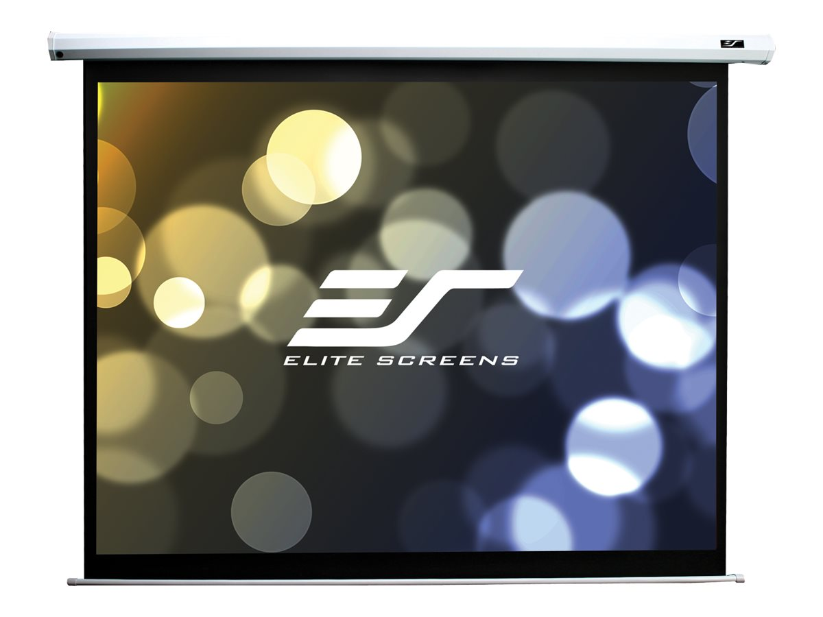 Elite Spectrum Series Electric85X - Écran de projection - montable au plafond, montable sur mur - motorisé - 85 po (216 cm) - 16:10 - MaxWhite - blanc