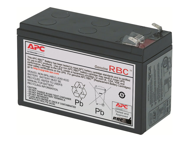Apc replacement battery cartridge 2 batterie d 39 onduleur - Acide de batterie ...