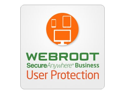Webroot SecureAnywhere Business - User Protection - upsell / add-on license (3 years) - 1 user, up to 4 devices