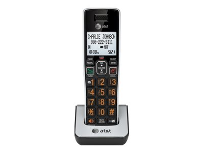 AT&T CL80113 - cordless extension handset with caller ID/call waiting - 4-way call capability