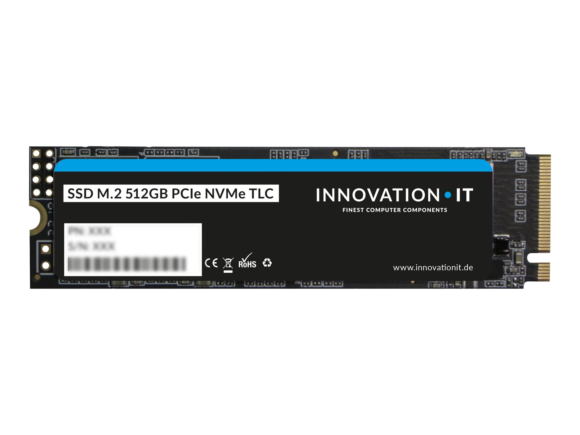 Innovation IT - Solid-State-Disk - 512 GB - intern - M.2 2280 - PCI Express (NVMe)