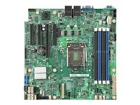 Intel Server Board S1200SPLR - Carte-mère - micro ATX - Socket LGA1151 - C236 - USB 3.0 - 2 x Gigabit LAN - carte graphique embarquée