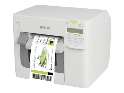 Epson TM C3500 Label printer color ink-jet Roll (4.25 in), fanfold (4.25 in)