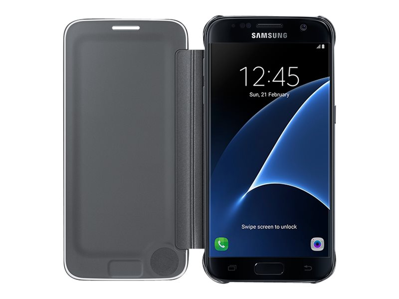 Samsung S-View Flip Cover EF-ZG930 - flip cover for cell phone