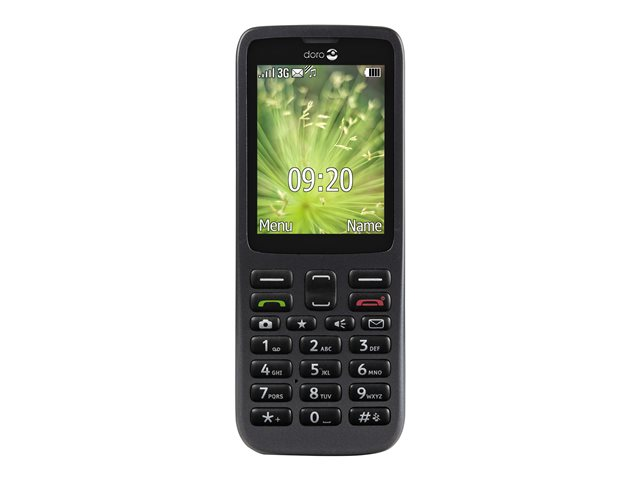 Image of Doro 5516 - black - 3G - GSM - mobile phone
