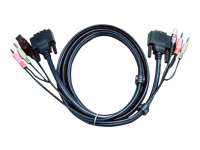 ATEN 2L-7D03UD - Video- / USB- / Audio-Kabel