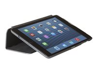 Tech air Hardcase - Flip cover for tablet - PET rubberised - black - for Apple 9.7-inch iPad (5th generation, 6th generation)