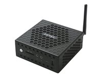 ZOTAC ZBOX C Series CI327 nano - Barebone - mini PC - 1 x Celeron N3450 / 1.1 GHz - HD Graphics 500 - GigE - WLAN: 802.11ac, Bluetooth 4.2