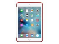 Apple (PRODUCT) RED - Back cover for tablet - silicone - red - for iPad mini 4