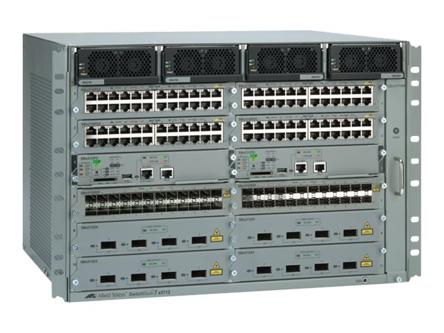 Allied Telesis SwitchBlade AT SBX3112-B01 - switch - 8 ports - managed - rack-mountable