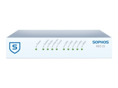 Sophos RED 15 Security appliance 4 ports GigE