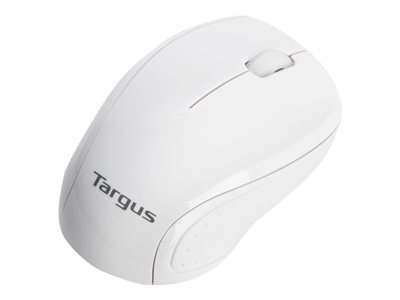 Targus W571 Mouse optical wireless 2.4 GHz USB wireless receiver white