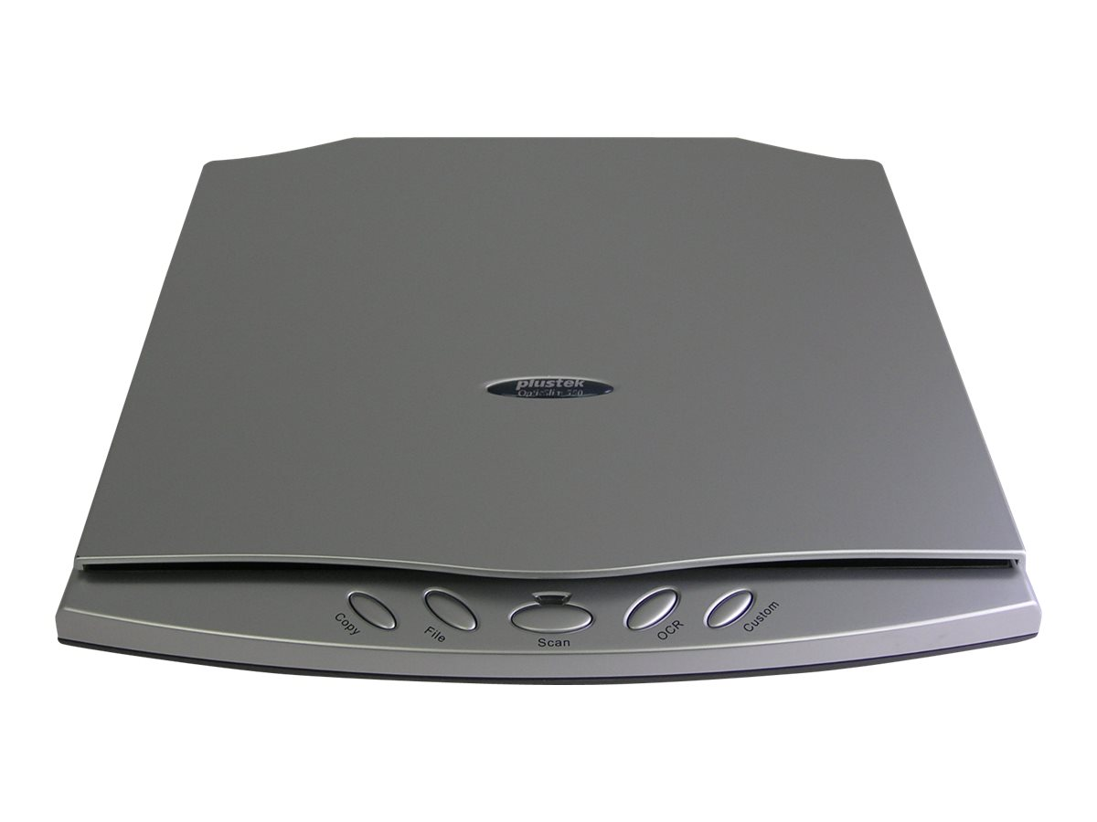 Plustek OpticSlim 550 Plus - Flachbettscanner - 150 x 216 mm - 1200 dpi x 1200 dpi - USB 2.0
