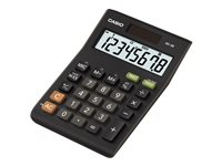 Casio MS-8B - Desktop calculator - solar panel, battery